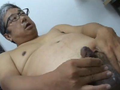 【親父エロ動画】中年リーマンのオナニー大全!
